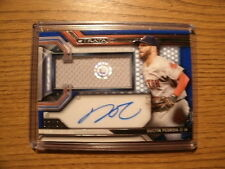 2016 Topps Strata Dustin Pedroia Clearly Jersey Autograph #D97/99 /JB218150