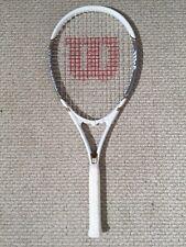 Wilson Venus Serena Power String Tennis Racket, L1 4 1/8 White Vgc+