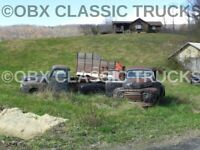 "Pic #2--8x10 Photo:Of 2 ""F"" series Ford Pickups abandoned in the Blue Ridge mtns"