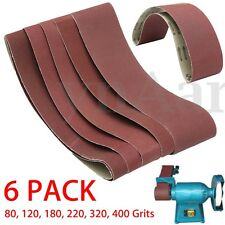 "4"" x36"" Aluminum Oxide Metal Sanding Belts 80, 120, 180, 220, 320, 400 Grits"