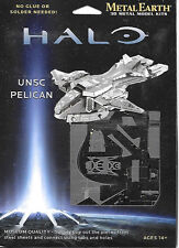 HALO Game UNSC Pelican Metal Earth 3-D Laser Cut Steel Model Kit #MMS292 SEALED
