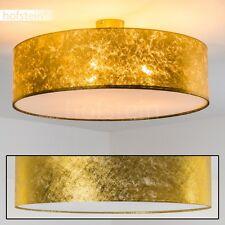 Plafoniera tessuto oro Lampada salotto Lampadario 60 cm Luce cucina nuova 140244