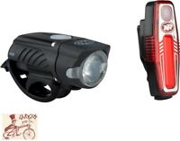 NITERIDER SWIFT 450 AND SABRE 80  BICYCLE HEADLIGHT AND TAILLIGHT SET