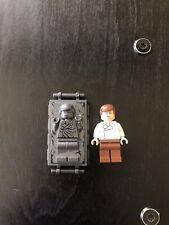 Nuevo Lego Star Wars Han Solo minifig y Han Solo en Carbonita (75137b)