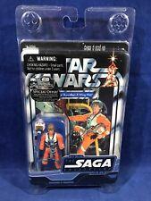NEW Star Wars LUKE SKYWALKER: X-WING PILOT Action Figure 2006 OTC SAGA Clamshell