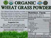 1/2 POUND Pure USDA Organic Wheat Grass Powder Whole Leaf Wheatgrass 1100 SOLD!!