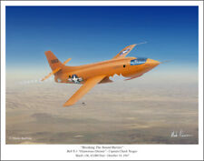 "Bell X-1 Art Print - 11"" x 14"" by Mark Karvon"
