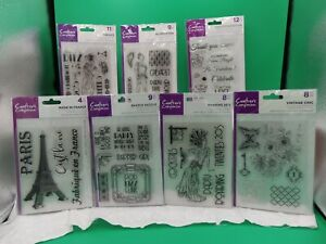 Acrylic Sentiment Stamps 3 by Crafters Companion you pick