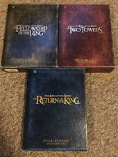 Lord of the Rings Trilogy - Special Extended Edition DVD Collectors Sets - LOTR