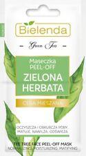 BIELENDA Zielona Herbata maseczka peel-off/ Green Tea peel-off face mask
