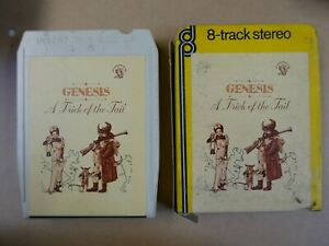 8 track cartridge + slip case GENESIS - A TRICK OF THE TAIL