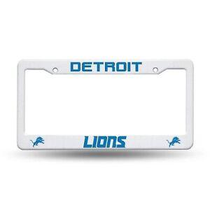 DETROIT LIONS NFL AUTO PLASTIC LICENSE PLATE FRAME