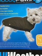 Ancol Muddy Paws XL Size Dog Coat - Green (5016646800480)