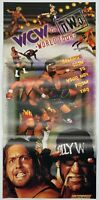 Poster - WCW vs NWO - N64 - OFFICIAL NINTENDO POWER - Nintendo 64