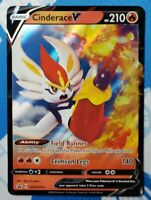 Cinderace V [SWSH015] Ultra Rare, Promo, Sword & Shield, Mint/NM, Pokemon TCG