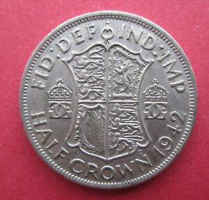 1942 Half-crown - King George VI coin (halfcrown)