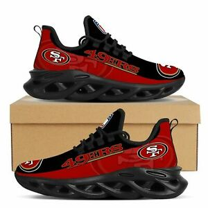 San Francisco 49ers Sneakers Shoes Men's Mesh Trail Running Training Shoes