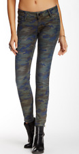 Etienne Marcel Printed Skinny Jeans Camo 25 NWT $195
