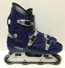 Roces Sidney Inline Skates 76mm 78A Rollerblades Mens Size 12.5 Made In Italy