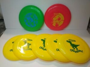 Lot of 7 New WHAM-O Frisbees