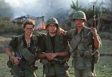 Platoon Cast Vietnam War Sheen Dafoe & Beringer High Gloss 8.5x11 Photo