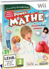 Lernerfolg Grundschule: Power Mathe, Wii Wii U Nintendo, NEU/OVP, Deutsch