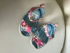 Baby Infant Kids Girl Soft Sole Crib Sandals Newborn Shoes 3 to 6 months