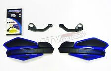 POWERMADD HANDGUARDS HAND GUARDS BLUE BLACK HAND GUARD MOUNTS YFZ450 RAPTOR