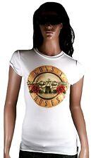 COOL Amplified GUNS N' ROSES LOGO ROCK STAR TUNIQUE VINTAGE T-Shirt G. XS 34