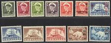 Greenland 1950-60 Sc.28/37 Inc The Key Value 50ore Sc.35 Mint Lh +4 Used Values