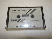 "Game Software ""Battle for Midway"" Cassette Amstrad Schneider CPC 464 (PC142)"