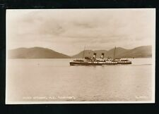 Scotland Clyde Paddle Steamer PS JUPITER c1950/60s? RP PPC by Valentine