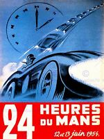 SPORT ADVERT MOTOR RACE LE MANS 24 HOURS FRANCE FINE ART PRINT POSTER CC4262