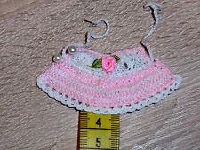 Puppenkleid Kleid Miniature Minipuppen SK , SE , ARI  Puppen 5 cm Puppenstube