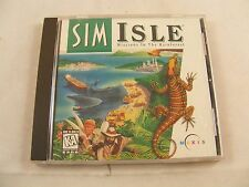 1997 SimIsle Missions in the Rainforest by Maxis boxed on CD for PC   sim isle