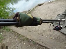 2 x Camo pattern fishing carp rod straps ties lead bands for inline leads