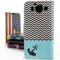 For Microsoft Lumia 950 Case Flip Wallet Pouch Design Cover + Screen Protector