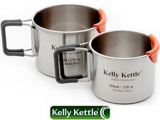 The Kelly Kettle Camping Cup Set (350ml & 500ml Cups)
