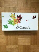 "2014 RCM ""O'CANADA"" COMPLETE 1/2oz FINE SILVER 10 COIN SET."