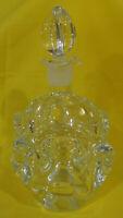 Vintage Lead Crystal Whiskey Decanter, Aseda Crystal Decanter by Bo Borgstrom