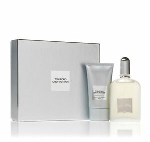 Tom Ford Grey Vetiver 1.7 oz / 50 ml edp Spray and After Shave Balm Gift Set