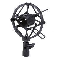 Microphone Shock Mount 25MM For 23MM-27MM Diameter Condenser Mic Black C2Z3
