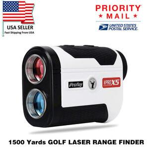 1500 Yards GOLF LASER RANGE FINDER W/FLAG-LOCK &VIBRATION 6X Magnification