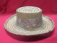 VINTAGE BUDWEISER WOVEN STRAW COWBOY HAT SIZE SMALL VERY NICE!! MEN WOMEN BEER