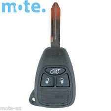 Chrysler Dodge PT Cruiser Seabring 3 Button Key Remote Case/Shell/Blank
