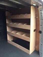 Ford Transit Custom Double Cab L1 Crew Van Racking Plywood Shelving Storage