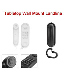 Landline Wall Mount Tabletop,No Caller ID Telephone;For Family Hotel Home Office