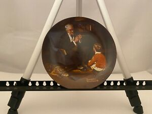 Norman Rockwell plate The Tycoon