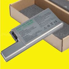Battery 312-0402 312-0538 310-9123 310-9122 DF192 For Dell Latitude D820 D830