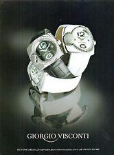 2006 Giorgio Visconti jewellery V-One collection vintage photo print Ad  ads12